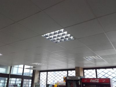 Монтаж на окачен таван 1