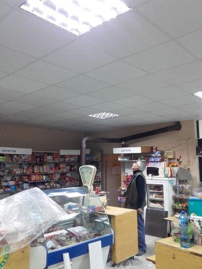 Монтаж на окачен таван 2