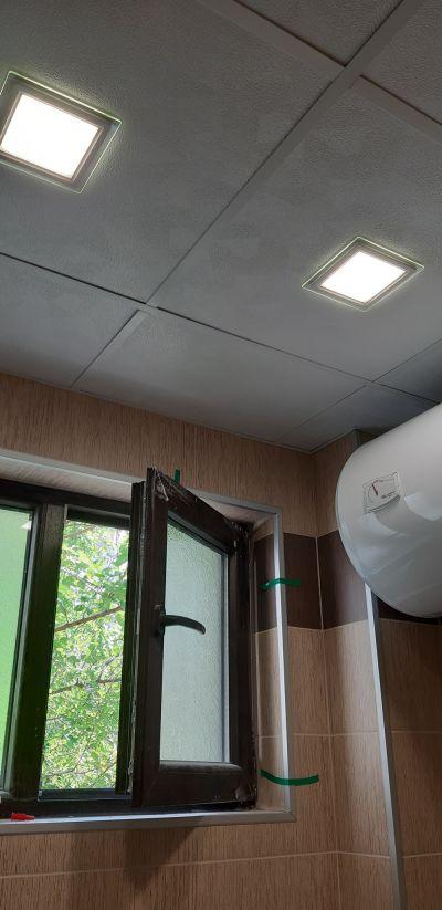 Монтаж на окачен таван 5