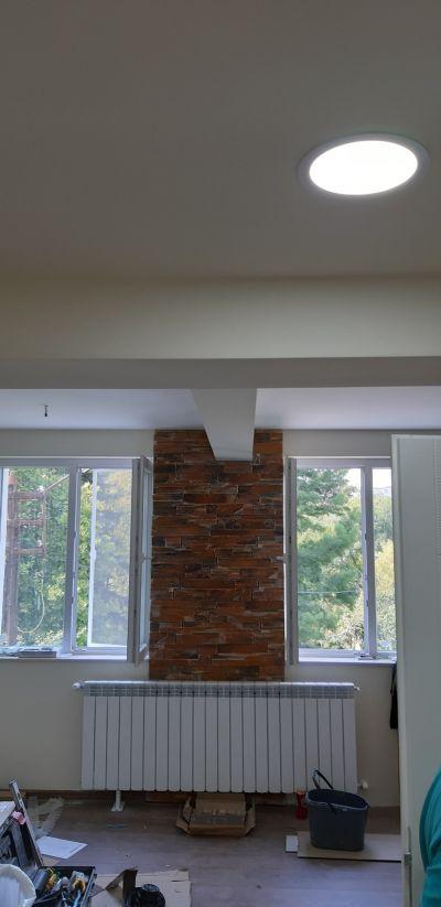 Монтаж на окачен таван 7